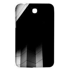 Wall White Black Abstract Samsung Galaxy Tab 3 (7 ) P3200 Hardshell Case  by Amaryn4rt