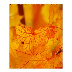 Bright Yellow Autumn Leaves Shower Curtain 60  X 72  (medium)  by Amaryn4rt