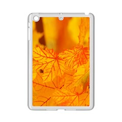 Bright Yellow Autumn Leaves Ipad Mini 2 Enamel Coated Cases by Amaryn4rt