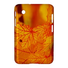 Bright Yellow Autumn Leaves Samsung Galaxy Tab 2 (7 ) P3100 Hardshell Case  by Amaryn4rt