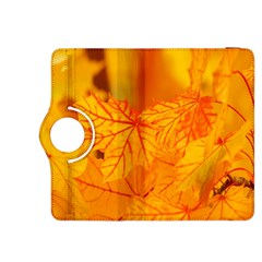 Bright Yellow Autumn Leaves Kindle Fire Hdx 8 9  Flip 360 Case