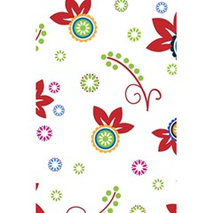 Colorful Floral Wallpaper Background Pattern 5 5  X 8 5  Notebooks by Amaryn4rt