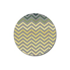 Abstract Vintage Lines Magnet 3  (round) by Amaryn4rt