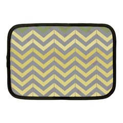 Abstract Vintage Lines Netbook Case (medium)  by Amaryn4rt