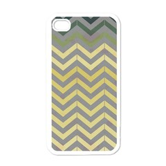 Abstract Vintage Lines Apple Iphone 4 Case (white) by Amaryn4rt