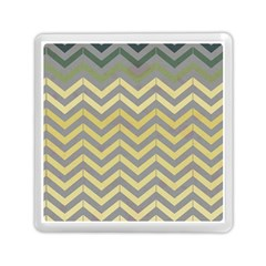 Abstract Vintage Lines Memory Card Reader (square)  by Amaryn4rt