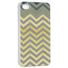 Abstract Vintage Lines Apple Iphone 4/4s Seamless Case (white) by Amaryn4rt