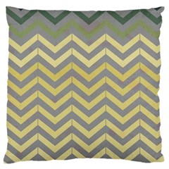 Abstract Vintage Lines Large Cushion Case (one Side) by Amaryn4rt