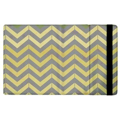 Abstract Vintage Lines Apple Ipad 2 Flip Case by Amaryn4rt