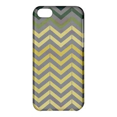Abstract Vintage Lines Apple Iphone 5c Hardshell Case by Amaryn4rt