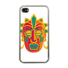 Mask Apple Iphone 4 Case (clear) by Valentinaart