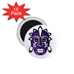 Mask 1 75  Magnets (10 Pack)  by Valentinaart