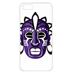 Mask Apple Iphone 5 Seamless Case (white) by Valentinaart