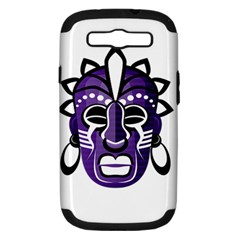 Mask Samsung Galaxy S Iii Hardshell Case (pc+silicone) by Valentinaart