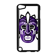 Mask Apple Ipod Touch 5 Case (black) by Valentinaart
