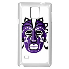 Mask Samsung Galaxy Note 4 Case (white) by Valentinaart