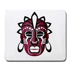 Mask Large Mousepads by Valentinaart