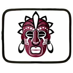 Mask Netbook Case (xl)  by Valentinaart