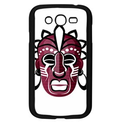 Mask Samsung Galaxy Grand Duos I9082 Case (black) by Valentinaart