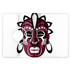 Mask Kindle Fire Hdx Flip 360 Case by Valentinaart