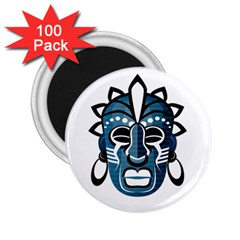 Mask 2 25  Magnets (100 Pack)  by Valentinaart