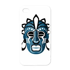 Mask Apple Iphone 4 Case (white) by Valentinaart