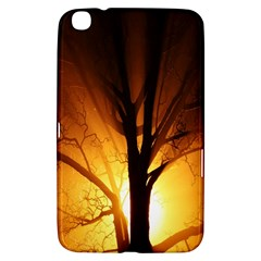 Rays Of Light Tree In Fog At Night Samsung Galaxy Tab 3 (8 ) T3100 Hardshell Case  by Amaryn4rt