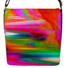 Abstract Illustration Nameless Fantasy Flap Messenger Bag (s) by Amaryn4rt