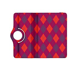 Plaid Pattern Kindle Fire Hdx 8 9  Flip 360 Case by Valentinaart