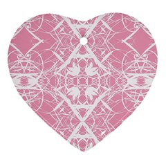 Pattern Heart Ornament (two Sides) by Valentinaart