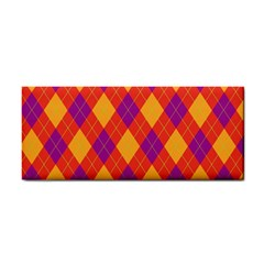 Plaid Pattern Cosmetic Storage Cases by Valentinaart
