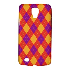 Plaid Pattern Galaxy S4 Active by Valentinaart