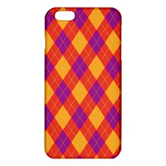 Plaid Pattern Iphone 6 Plus/6s Plus Tpu Case by Valentinaart