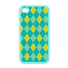 Plaid Pattern Apple Iphone 4 Case (color) by Valentinaart
