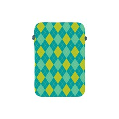 Plaid Pattern Apple Ipad Mini Protective Soft Cases by Valentinaart
