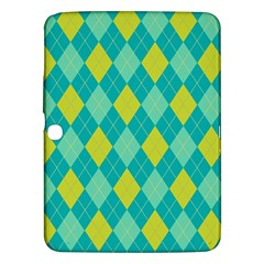 Plaid Pattern Samsung Galaxy Tab 3 (10 1 ) P5200 Hardshell Case  by Valentinaart
