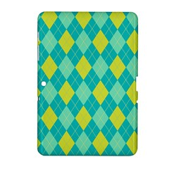Plaid Pattern Samsung Galaxy Tab 2 (10 1 ) P5100 Hardshell Case  by Valentinaart