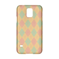 Plaid Pattern Samsung Galaxy S5 Hardshell Case  by Valentinaart