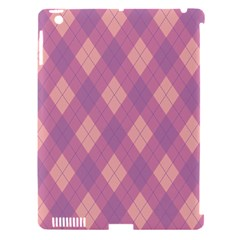 Plaid Pattern Apple Ipad 3/4 Hardshell Case (compatible With Smart Cover) by Valentinaart