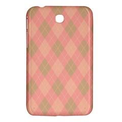 Plaid Pattern Samsung Galaxy Tab 3 (7 ) P3200 Hardshell Case  by Valentinaart