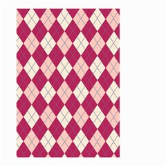Plaid Pattern Small Garden Flag (two Sides) by Valentinaart