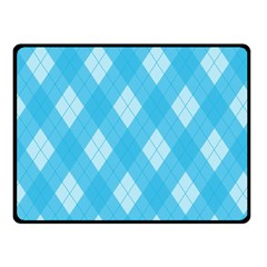 Plaid pattern Fleece Blanket (Small)