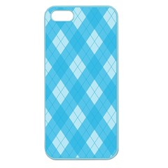 Plaid Pattern Apple Seamless Iphone 5 Case (color) by Valentinaart