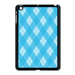 Plaid Pattern Apple Ipad Mini Case (black) by Valentinaart