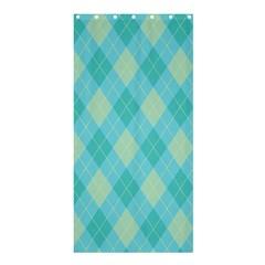 Plaid Pattern Shower Curtain 36  X 72  (stall)  by Valentinaart