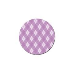 Plaid Pattern Golf Ball Marker (10 Pack) by Valentinaart