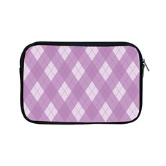 Plaid Pattern Apple Ipad Mini Zipper Cases by Valentinaart