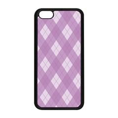 Plaid Pattern Apple Iphone 5c Seamless Case (black) by Valentinaart