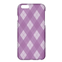 Plaid Pattern Apple Iphone 6 Plus/6s Plus Hardshell Case by Valentinaart
