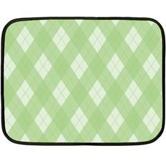Plaid Pattern Fleece Blanket (mini) by Valentinaart